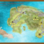 Karte der Kaufmannslande