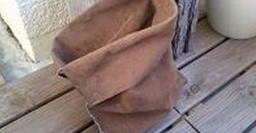 Steine und Taschen