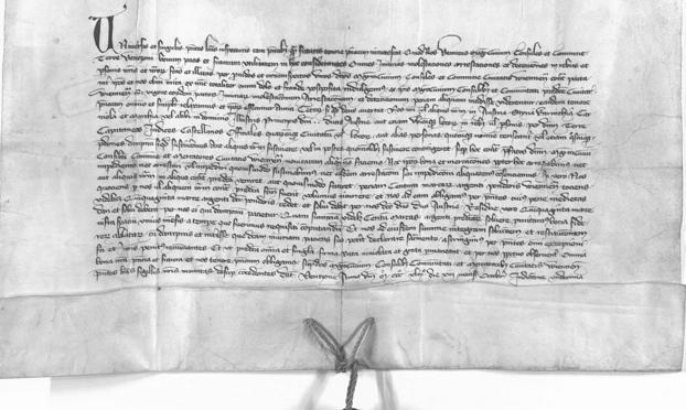 Brief Inspektor Ulfried Wiedens an den Rat