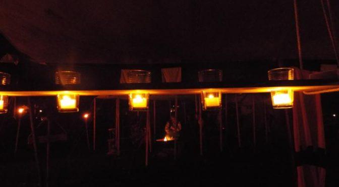 Lichtbalken Bau