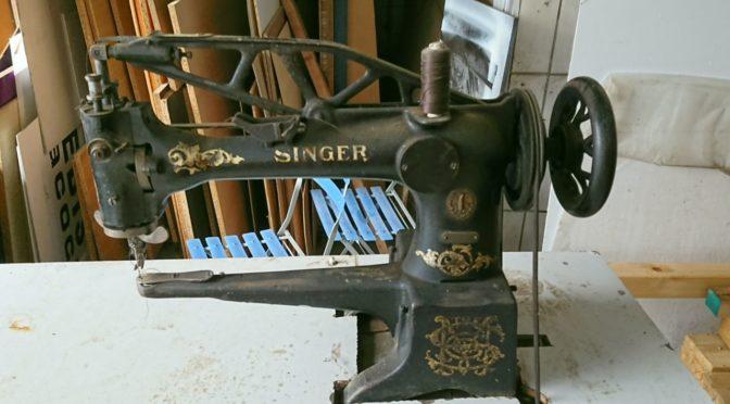 Zu verkaufen: Sattlerei-Nähmaschine