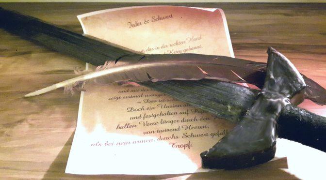 """""""Feder & Schwert"""" – Ein Nachmittag in Nordgaard"""