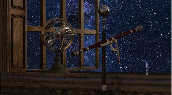 Bau einer Sternenwarte zu Champa